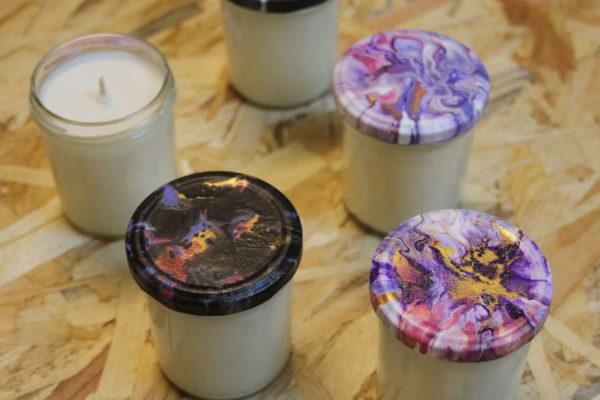 atelier fabrication de bougies parfumées