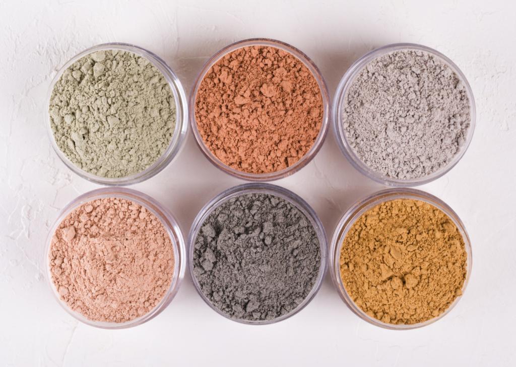8 différents types d'argiles et leurs bienfaits
