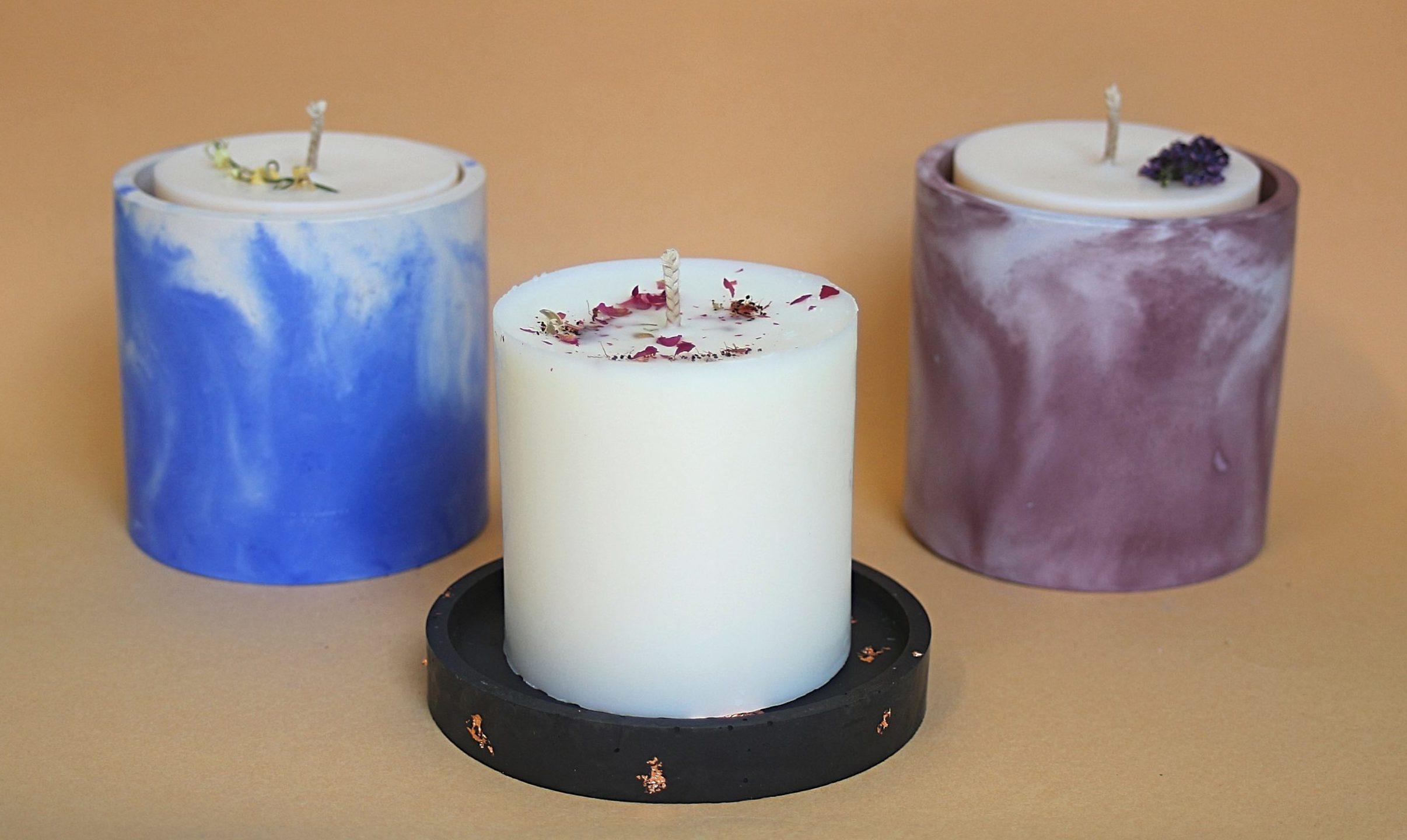 Découvre nos bougies zéro déchet